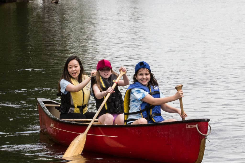 Camp Erin Paddle