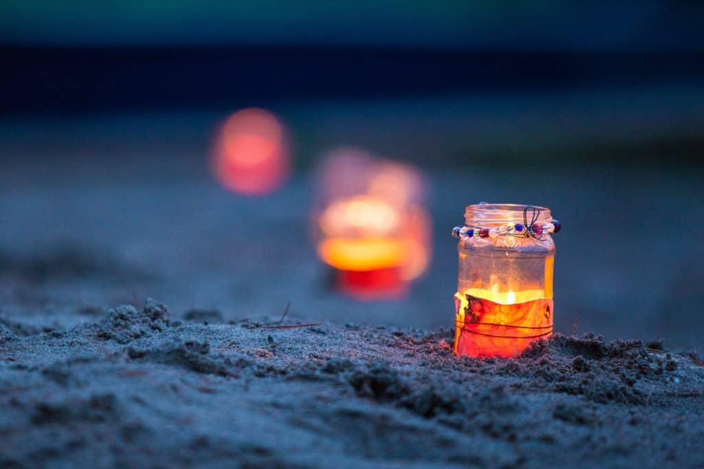 Beach lights