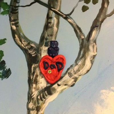 Dad Heart in Tree